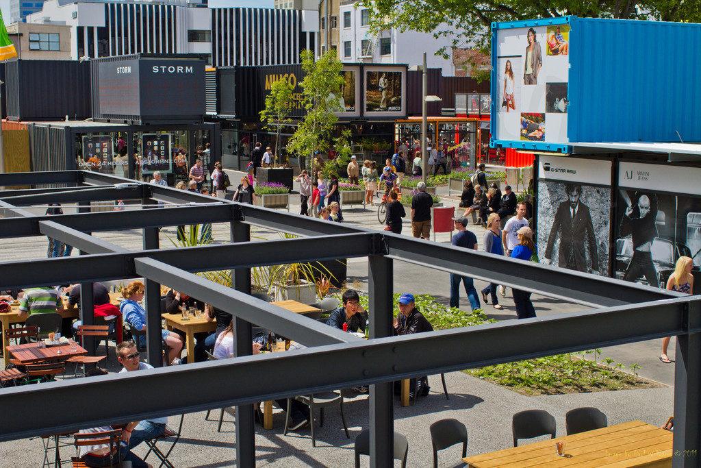 Restart Mall Christchurch NZ